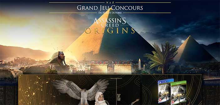 Grandjeuconcours-acorigins.com - Jeu Assassin Creed Origin