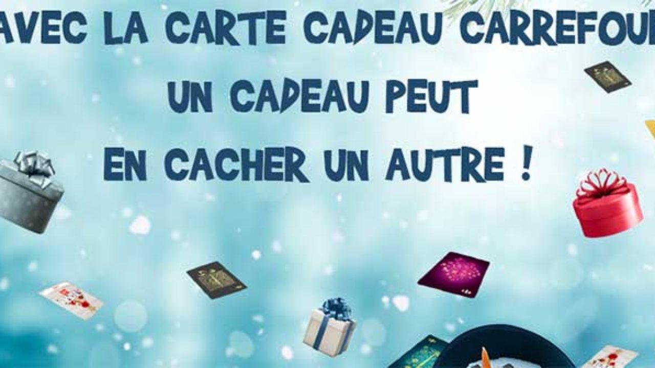 Www Carrefour Fr Carte Cadeau