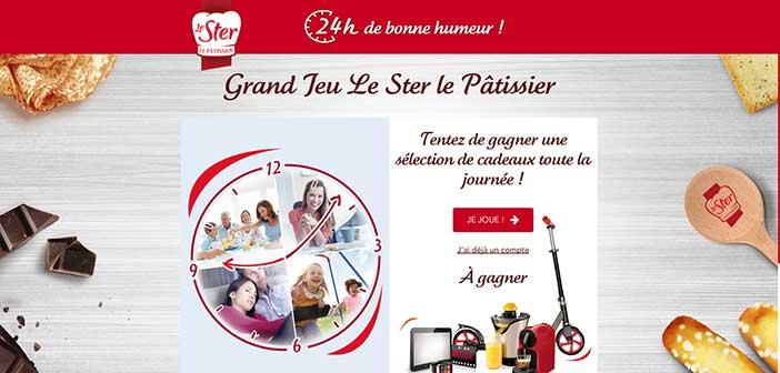 www.24hdebonnehumeur.com - Grand Jeu Le Ster le Pâtissier