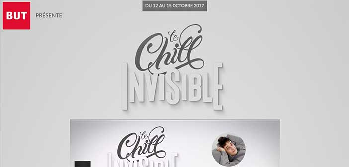 www.but.fr/chillinvisible - Jeu Chill Invisible But
