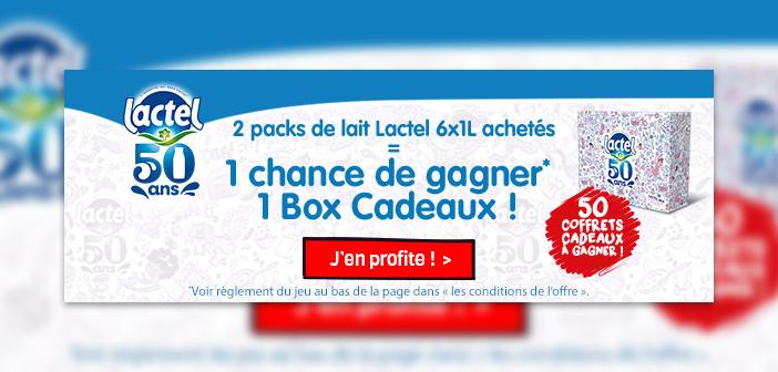 www.chronodrive.com - Jeu Chronodrive 50 ans Lactel