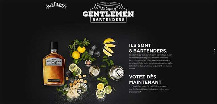 www.gentlemancocktailweek.fr - Jeu The League of Gentlemen Bartenders