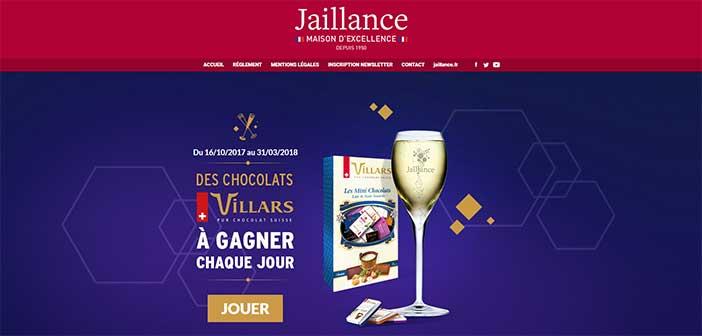 www.grand-jeu-jaillance.com - Grand Jeu Jaillance Chocolats Villars