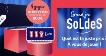 www.auchan.fr - Grand Jeu Soldes Auchan
