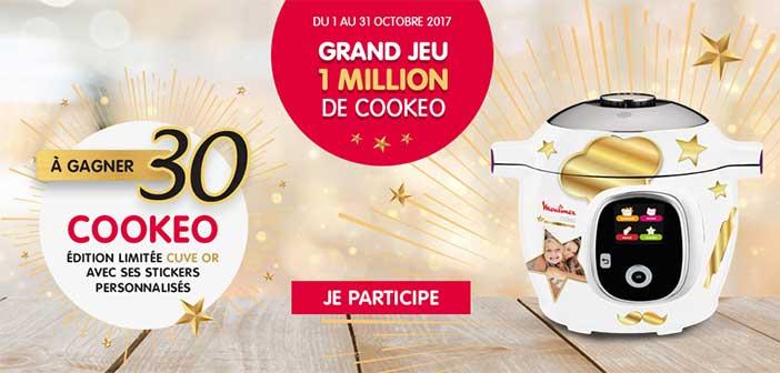 www.moulinex.fr - Grand Jeu 1 Million de Cookeo Moulinex