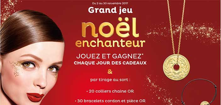 Jeu.nocibe.fr - Grand Jeu Noël Enchanteur Nocibé