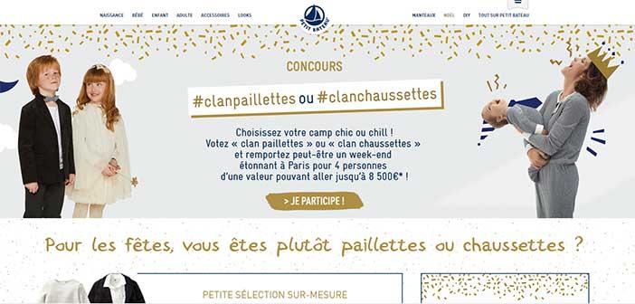 www.petit-bateau.fr - Jeu Petit Bateau Paillettes-Chaussettes