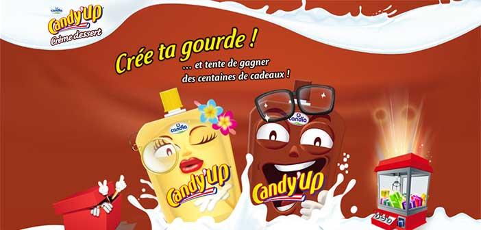 www.candia.fr/cree-ta-gourde - Jeu Crée ta gourde Candy'Up