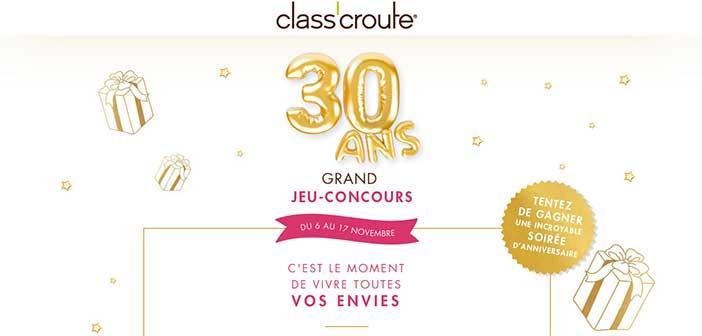 www.classcroute.com/jeu-30-ans - Jeu Les 30 ans Class'Croute