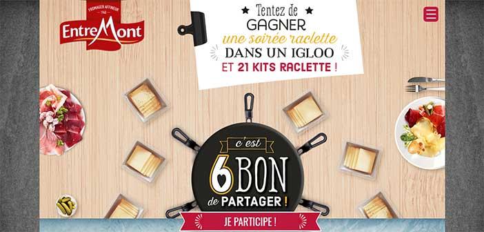 www.entremont.com - Jeu Entremont C'est 6 bon de partager
