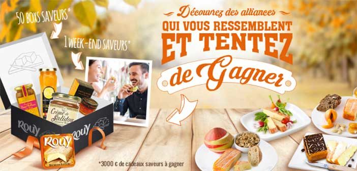 www.fromage-rouy.fr - Jeu Instants Gagnants Fromage Rouy