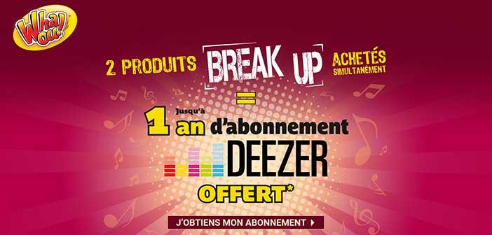 www.jeu-breakupdewhaou.com - Jeu Break Up de Whaou!