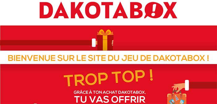 www.jeudakotaboxnoel.com - Jeu Instant Gagnant DakotaBox Noël