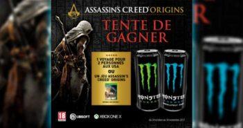 www.jeumonster.fr/carrefour - Jeu Monster Assassin's Creed Origin Carrefour