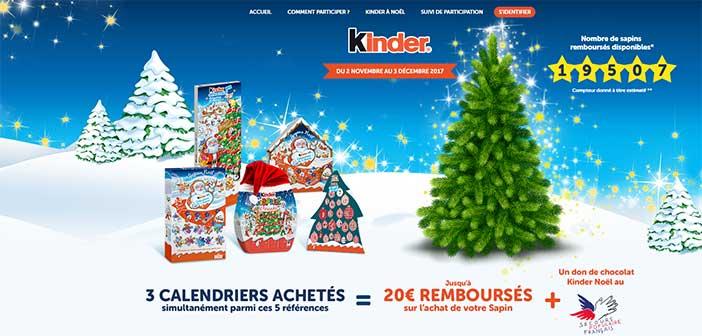 www.kindersapin.fr - Opération Kinder Sapin