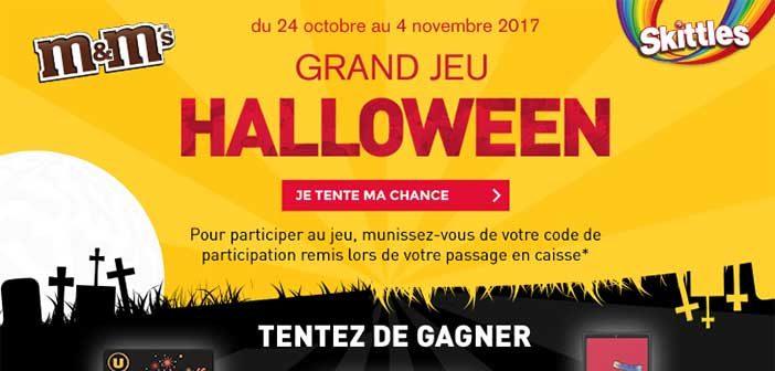www.magasins-u.com/jeu-halloween - Grand Jeu Halloween Magasins U