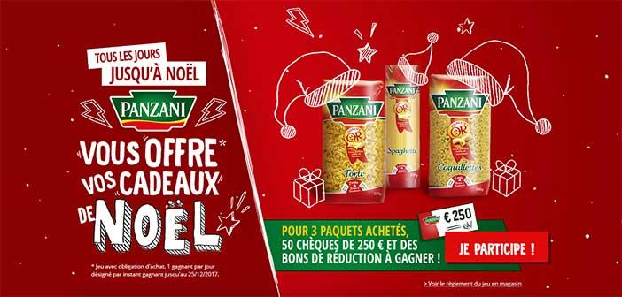 www.panzani.fr/noel-panzani - Jeu de Noël chez Panzani