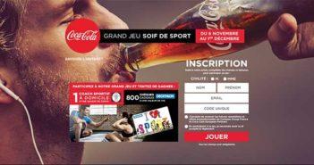 www.soifdesport.fr - Grand Jeu Soif de Sport Coca-Cola