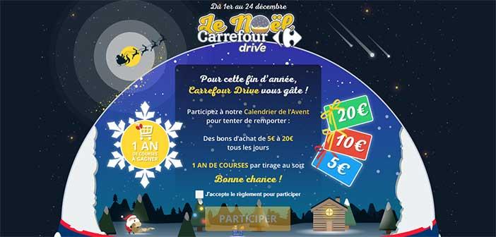 Jeu calendrier de l 39 avent carrefour drive bestofconcours - Carrefour calendrier de l avent ...