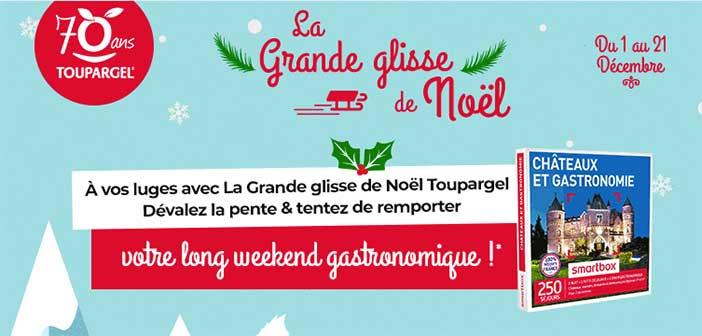 www.toupargel.fr – Jeu La Grande Glisse de Noël Toupargel