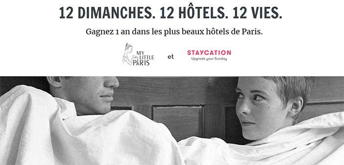 contest.mylittleparis.com - Jeu My Little Paris Staycation