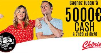 www.cheriefm.fr - Jeu L'appel à 5000 euros Chérie FM