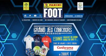 www.footpanini.com - Jeu Foot Panini 2017/2018
