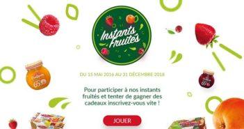 www.instants-fruites.fr - Jeu Instant Gagnant Instants Fruités
