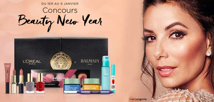 www.loreal-paris.fr - Jeu Beauty New Year L'Oréal Paris