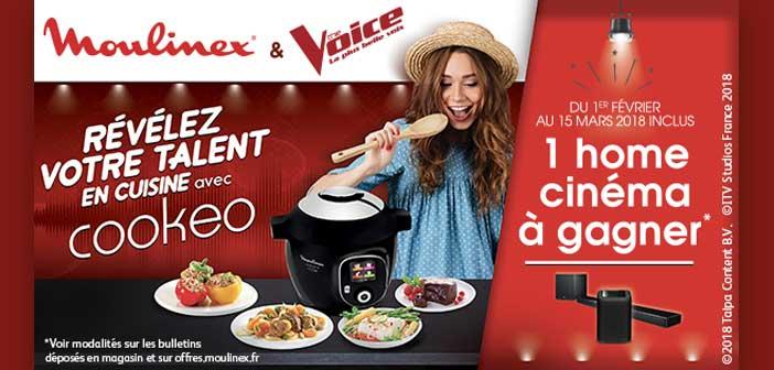 offres.moulinex.fr - Jeu Cookeo Moulinex The Voice
