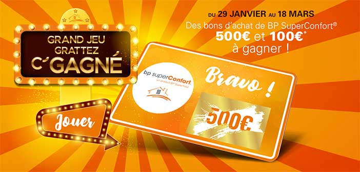 www.bpsuperfioul.fr - Grand Jeu Grattez C'Gagné BP Superfioul