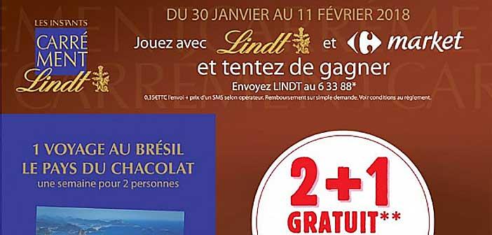 www.carrefourmarket.fr - Jeu SMS Lindt Carrefour Market
