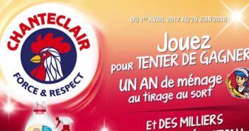 www.chanteclair-france.fr – Jeu Chanteclair 1 an de ménage à gagner