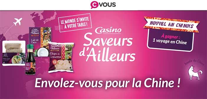 www.cvous.com - Jeu Quiz Casino Saveurs d'Ailleurs