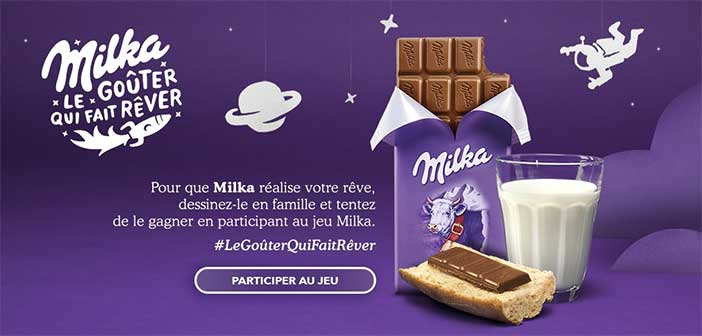 www.milkalegouterquifaitrever.fr - Jeu Milka Le Goûter qui fait rêver