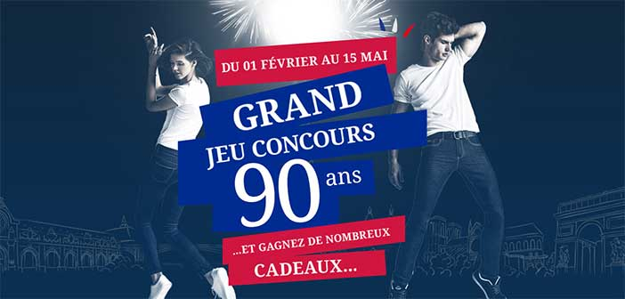 www.ricalewis.com - Grand Jeu Concours 90 ans Rica Lewis