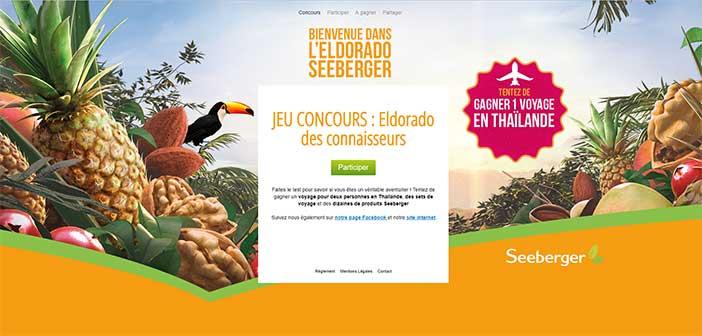 www.seeberger-eldorado.fr – Grand Jeu Eldorado Seeberger