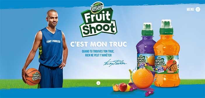 www.tp-fruitshoot.fr - Grand Jeu Teisseire Fruitshoot avec Tony Parker