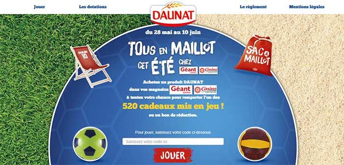 www.jeudaunatgeantcasino.com - Grand Jeu Daunat Géant Casino