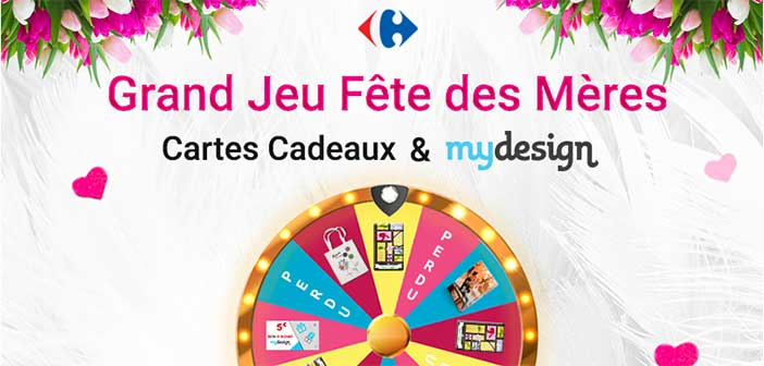 Wwwjeukdocarrefourfr Grand Jeu Fête Des Mères Carrefour
