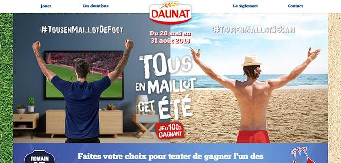 www.tousenmaillotcetete.fr - Jeu Daunat Tous en maillot ...